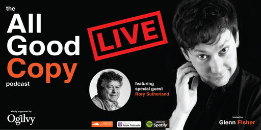 The All Good Copy Podcast LIVE