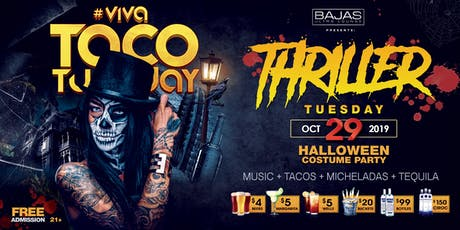 Thriller Tuesday Halloween Party tickets