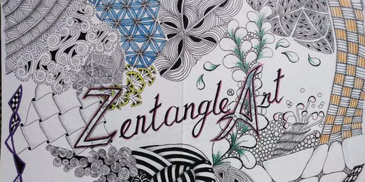 MacPherson: Zentangle Art Course 禅绕画 - Nov 22 - Jan 10 (Fri) 8 sessions