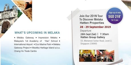 Property Investment Tour	Discover The New Meleka tickets