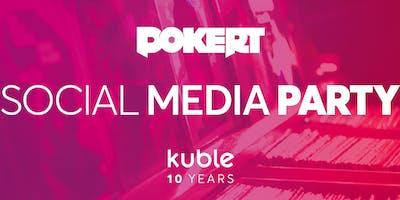 #pokeRT Social Media Party Kuble's 10-year anniversary