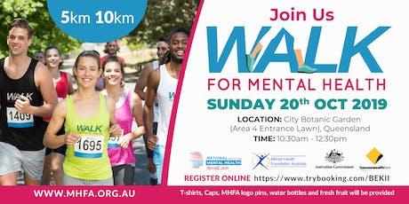 Walk for Mental Health Queensland - 2019 tickets