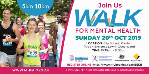Walk for Mental Health Queensland - 2019