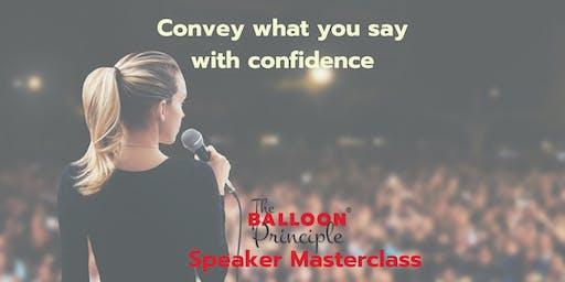 Balloon Principle Speaker Masterclass - Brisbane