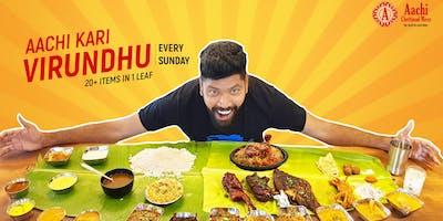 Kari Virundhu - South Indian Non Veg Banana Leaf Fest