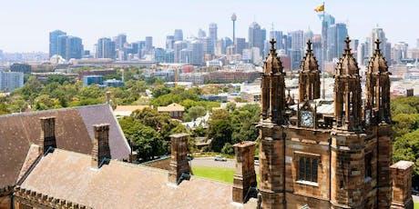 University of Sydney Information Evening in New York tickets
