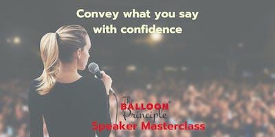 Balloon Principle Speaker Masterclass - Gold Coast
