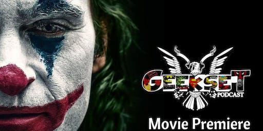 Geekset Presents: The Joker starring Joaquin Phoenix