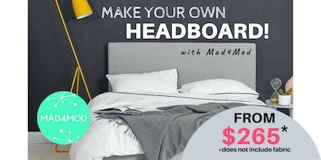 Classic Headboard Workshop tickets