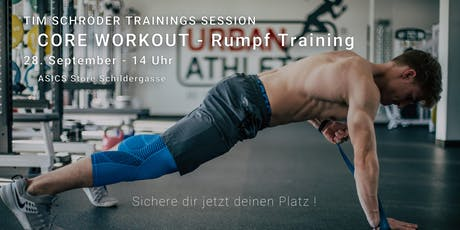 Core Training Cologne  Tickets