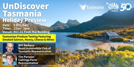 UnDiscover Tasmania Holiday Preview tickets