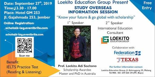 Study Overseas Information Session & Scholarship Talk