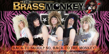 Hair Force One - Back to the Monkey - Live at the Brass Monkey!!! tickets