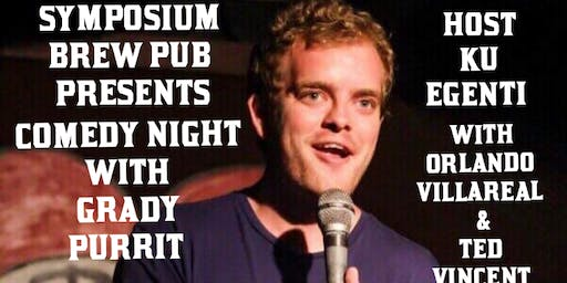 Comedy Night With Grady Purrit