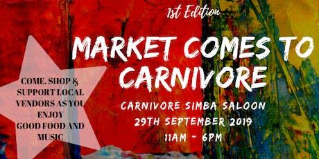 Carnivore Market tickets
