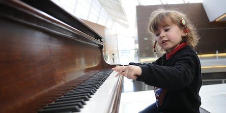 Lezione prova - Pianoforte per Bambini biglietti