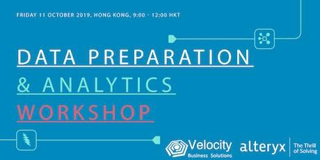 Alteryx Data Preparation & Analytics Workshop (11 October 2019) tickets