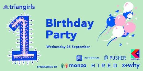 Triangirls Birthday Party tickets