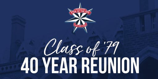 Star of the Sea Class of 1979, 40 Year Reunion