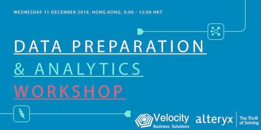 Alteryx Data Preparation & Analytics Workshop (11 December 2019)