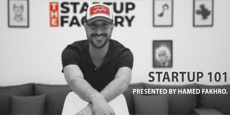 Startup 101 by Hamed Fakhro tickets