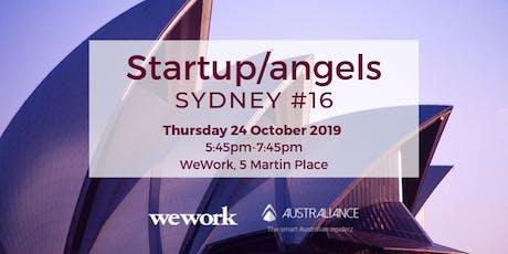 Startup&Angels Sydney #16 - SPARK FESTIVAL  tickets
