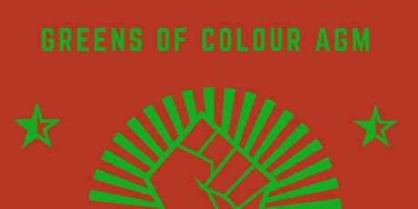 Greens of Colour AGM tickets
