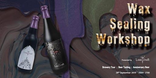 H.K. Lovecraft Brewery Experience x Wax Sealing Workshop