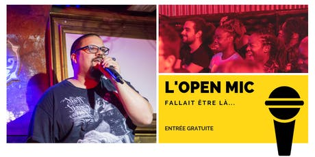 l'Open Mic de Lausanne  - 4 Octobre billets