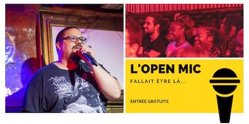 l'Open Mic de Lausanne  - 4 Octobre