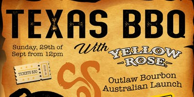 Texas BBQ with Yellow Rose