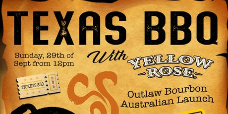 Texas BBQ with Yellow Rose tickets