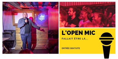 Copy of l'Open Mic de Lausanne  - 11 Octobre billets
