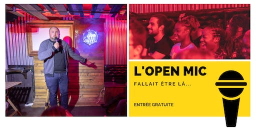 Copy of l'Open Mic de Lausanne  - 11 Octobre