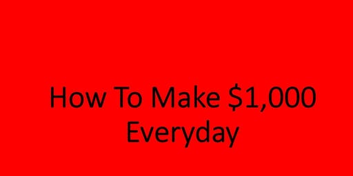 How To Make $1,000 Pay Day