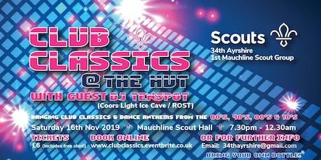 Club Classics @ The Hut tickets