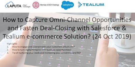 How to Capture Omni-Channel Opportunities & Fasten Deal-Closing? tickets