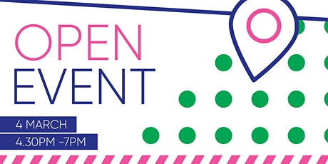 March Open Event tickets