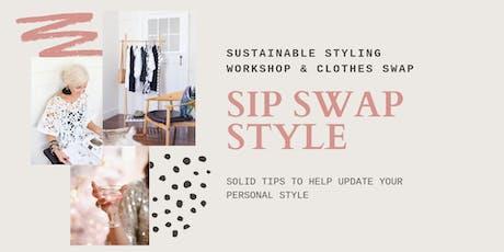 SIP SWAP STYLE - WORKSHOP tickets
