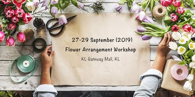 27-29 Sept - Flower Arrangement Workshop (KL Gateway Mall)