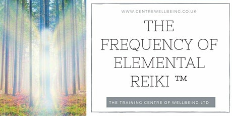 The Frequency of Elemental Reiki ™ Tuning Fork Practitioner tickets