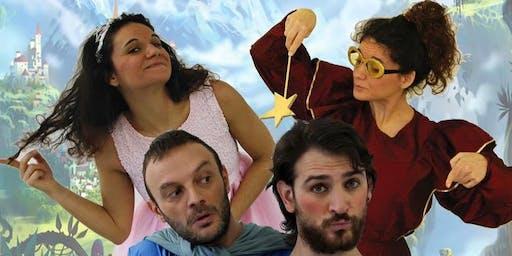 IL PRINCIPE AZZURROGNOLO - Viandanti Teatranti