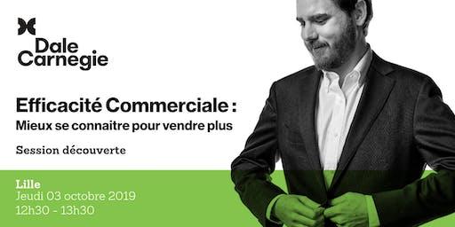 Efficacité commerciale - Session découverte gratuite à Lille