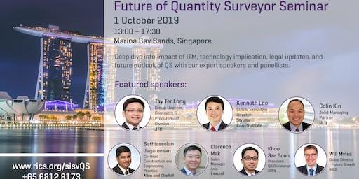 SISV-RICS Future of Quantity Surveyor Seminar (Singapore)