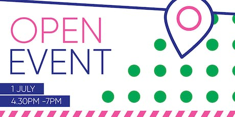 01 July Open Event tickets