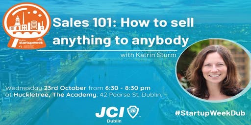 Sales 101: How to sell anything to anybody
