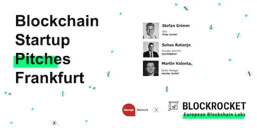 Blockchain Startup Pitches - Frankfurt