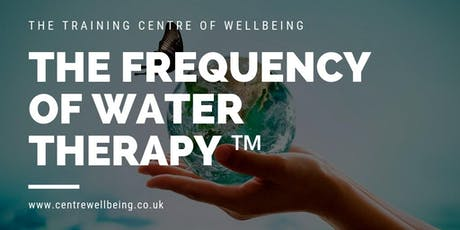 The Frequency of Water Therapy ™ tickets