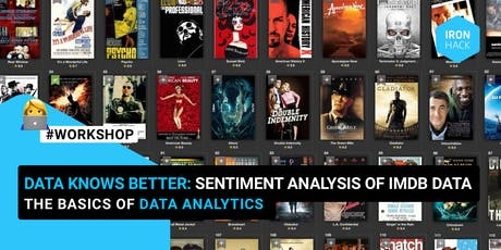 Data Knows Better: Intro to Data Analytics with the IMDB database tickets