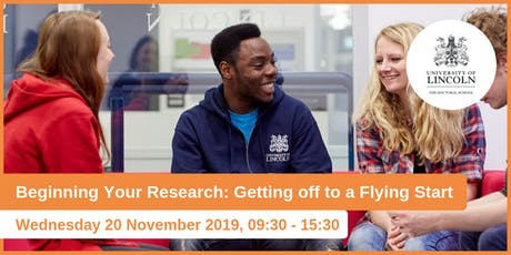 Beginning Your Research: Getting Off to a Flying Start (Doctoral School Induction) tickets